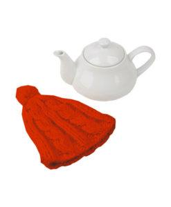 Чайник в шапочке