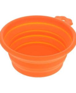 uperDesign миска силиконовая складная средняя 700 мл оранжевая